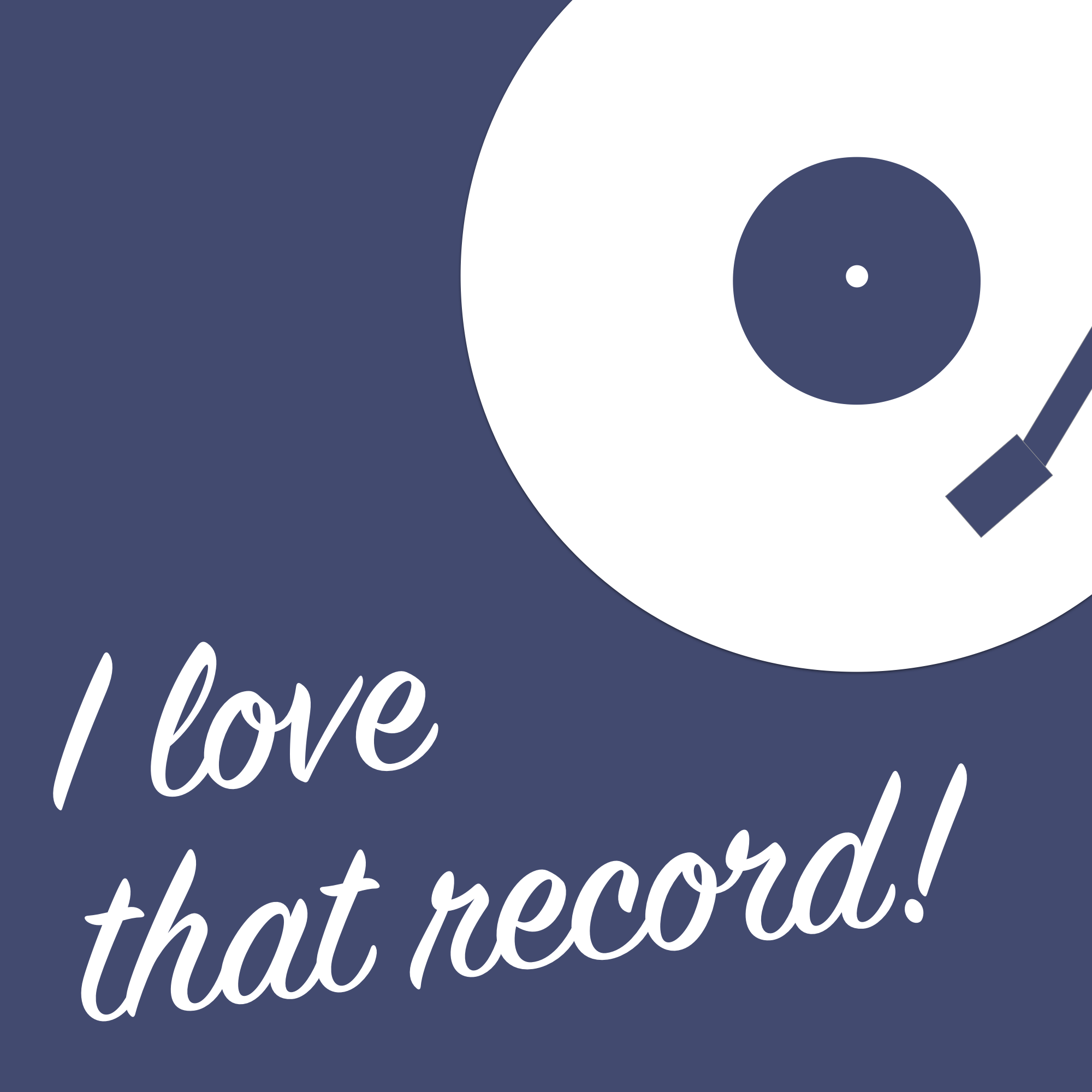 I Love That Record Logo
